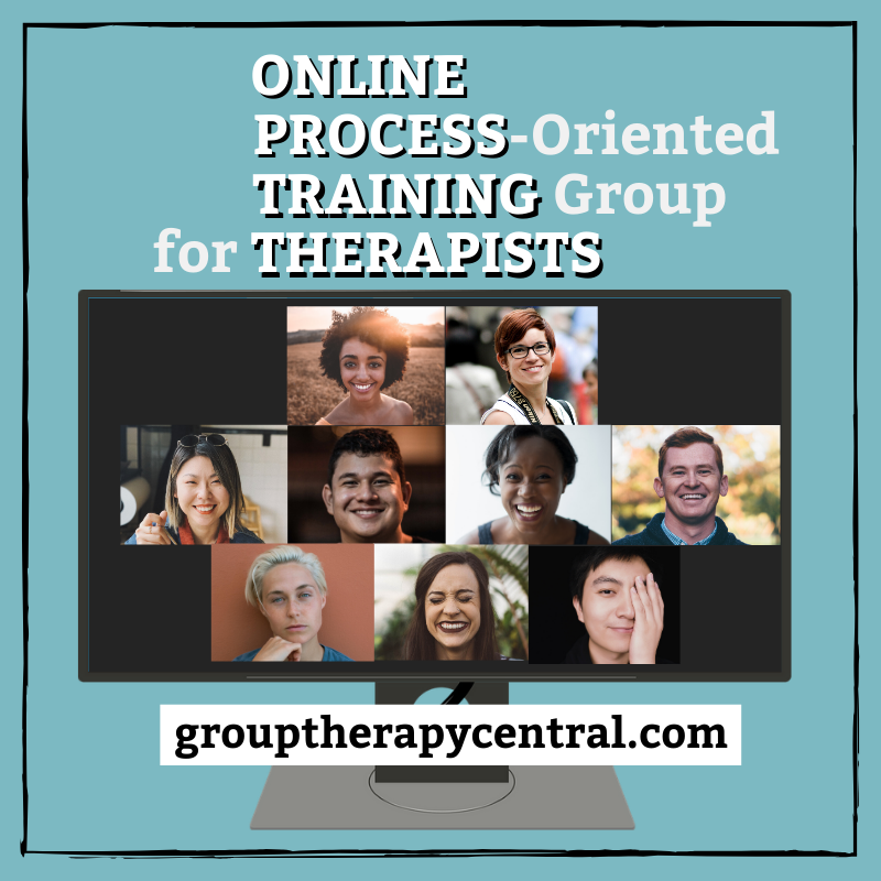 Online Process-oriented Training Group for Therapists, Group Therapy Central, Nate Page PhD, LP